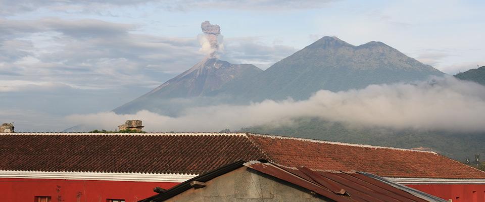 Antigua-Volcano